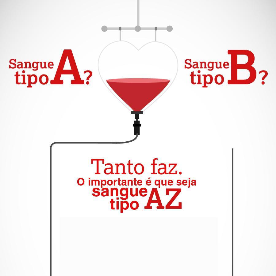 AstraZeneca - Doação de sangue.