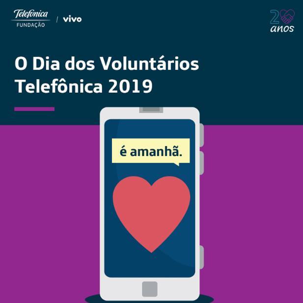 Dia dos Voluntários Telefônica 2019