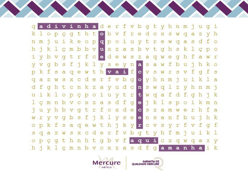 Mercure Hotéis - Caça Qualidades