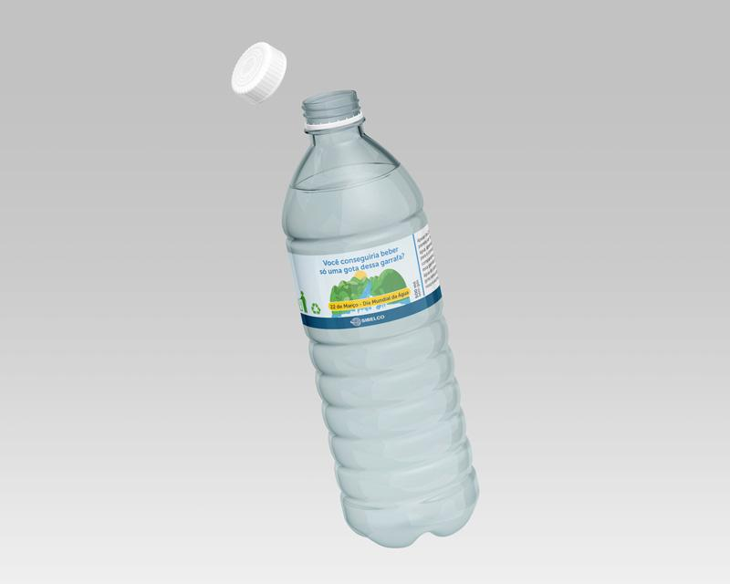 Sibelco - Rótulo Água